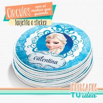 Frozen - Círculo Multiuso Para Imprimir