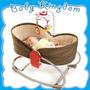 Nueva Mini Cuna-moises De Viaje Para Bebe Portatil Tiny Love