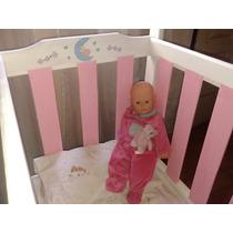Cuna Para Bebe Pintada