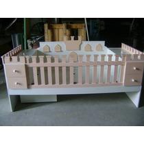 Cuna Funcional En Forma De Castillo Y Comoda Diseño Infantil