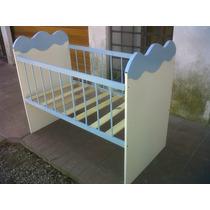 Cuna Nube 120x60 Colores A Eleccion Envios A Todo El Pais