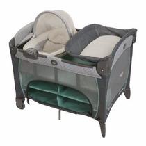 Cuna Graco Plegable Newborn Napper Manor Punto Bebe