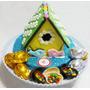 Cookies 3d Casita De Pajaritos Decorada Y Huevos De Choco