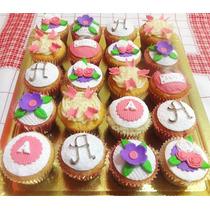 Cupcakes Decorados Baby Shower Futbol Dia Madre Infantiles