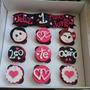 Cupcakes Decorados Romanticos Aniverasrios Regalos Festejos