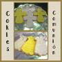 Cokies Decoradas... Souvenirs Para Tu Comunion O Bautismo!