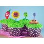 Cupcakes Magdalenas Muffin Mesa Dulce Cumpleaños Decorado