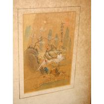 China Pintura Antiguo Los Principes Mandarines