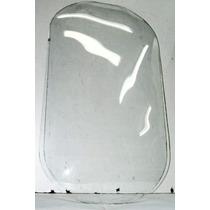 Vidrio Bombé Ovalado Marco Antiguo Frances 49x29- La Plata