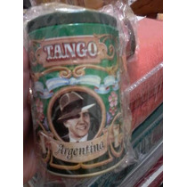 Navidad! Latas C/tapa Multiuso Diseños Gardel Tango