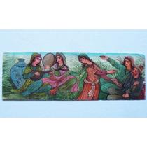 Historical*-hay 2 Placas Pintadas Kayar Imperio Persa-envío