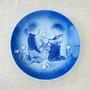 Plato De Colección Porcelana Copenhagen - Dinamarca- 1975