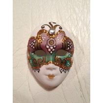 Mascara veneciana decoraci n antigua mercadolibre - Mascaras venecianas decoracion ...