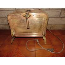 Antiguo Horno Esterilizador Bronce Completo De Decoracion