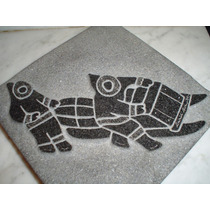Escultura Canadiense Firmad David Bernett Arte Indigena Inui