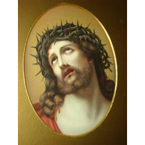 Pintura Europea. Cristo Doliente. Temple.