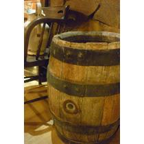 Antiguo Barril De Roble Cerveza Quilmes