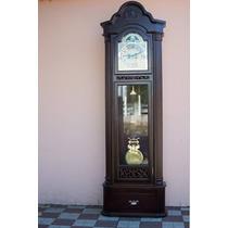 Reloj De Pie Simil Antiguo Nuevo A Pendulo Y Cuerda