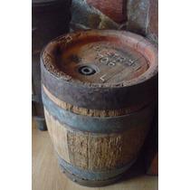 Antiguo Barril De Roble De Cerveza Austral