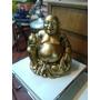 Buda Antiguo Tallado En Madera