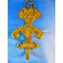 El Arcon Antigua Percha De Bronce Labrada A Mano 19cm 7542