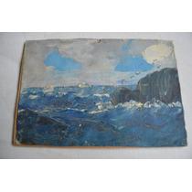 Antigua Pintura De Oleo