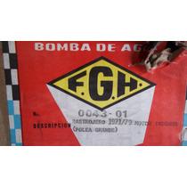 Rastrojero Motor Indenor Bomba Agua C/ Polea Grande 71 Al 79