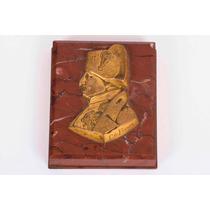 Importante Pisapapeles Bronce Napoleon Frances Firmado