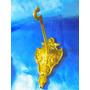 El Arcon Antigua Percha De Bronce Labrado A Mano 18070