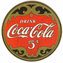 Carteles Antiguos De Chapa Gruesa 50cm Coca Cola Dr-004