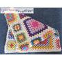 Manta Tejida Al Crochet