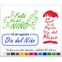 Ploteo Vidrieras - Dia Del Niño