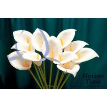 Flores Artificiales Cala De 70 Cm De Largo La Docena