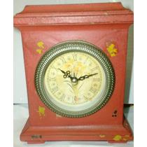 Reloj De Madera Vintaje Patinado#