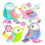 Sticker Infantil 3d Zoo Pajaritos Morph