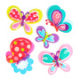Sticker Infantil 3d Mariposas Morph