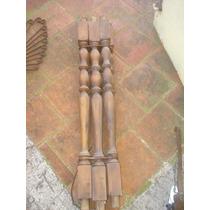 6 Antiguos Balustres Madera Para Baranda/escalera
