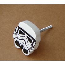 Star Wars Tirador- Para Cajones Y Puertas De Muebles