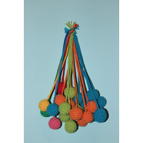 Tulmas Pompones Crochet Decoracion Infantil Bebes Babyshower