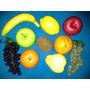 Frutas Y Hortalizas Grandes Decorativas Naranja