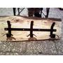 Perchero! Y Muebles Art.decoracion Soportes - Hierro/madera