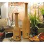 Botella Madera Grande - Adorno