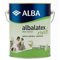 Albalatex Blanco 10tt. Pintura Latex Premium Alba Interior