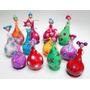 Muñecas De Calabaza Y Porcelana Artesanales 16 Cm Altura