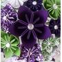 Flores De Origami X 6