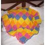 Manta O Pie De Cama Tejido En Crochet