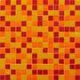 Plancha 225 Venecitas Murvi Mezcla Rojo, Naranja Y Amarillo