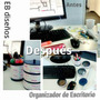 Organizador De Escritorio - Lapicero Y Mas - Eb Diseños