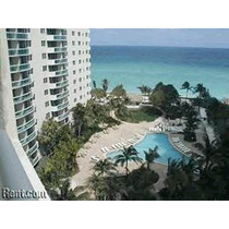 Miami Departamento En Alquiler (hollywood Beach), Alquilo 1