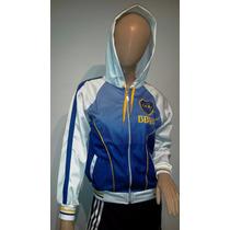 Campera Deportiva Boca Juniors Dama